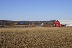 """Another """"Can't Win Them All""""... (Philip_Martin) Tags: wisconsin adams pacific sub union line wi subdivision"""