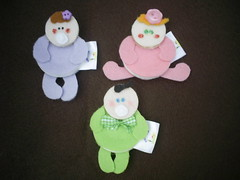 bebês - botão (Veluarts Atelie) Tags: broche felt bebê feltro aniversário maternidade ímãs acessórios lembrancinhas chaveiros fieltro