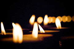 Dancing flames (elena carpani) Tags: light church canon eos candles piemonte 7d piedmont luce candele chiese