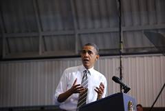 Obama speaking (10) (borman818) Tags: energy president presidential gas oil speech largo obama barackobama barack pgcc alternativeenergies princegeorgescommunitycollege