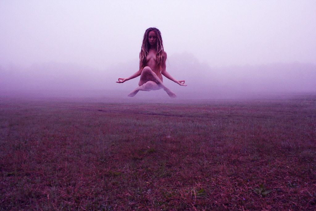Natural Mystic Resting Nomad Tags Mist Selfportrait Nature Yoga Fog Nude Photography Levitation