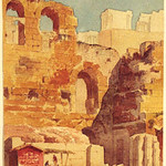 "<b>Theatre of Acropolis</b><br/> Basil Lanza (1825-1902) ""Theatre of Acropolis"" Watercolor, n.d. LFAC #1997:08:56<a href=""//farm8.static.flickr.com/7185/6852458647_1cced0d179_o.jpg"" title=""High res"">∝</a>"