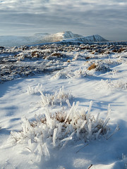 Corn Du, Pen y Fan and Cribyn (Reversed Vision) Tags: winter mountain ice frozen brecon beacons penyfan cribyn corndu waunrydd