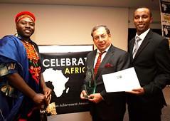 Celebrate Africa عـنان الـجلالـى رجـل أفـريـقـيا لـهـذا الـعـام