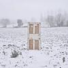 Memory (Lou Bert) Tags: door snow france field laurenbatesphotography flickr12days