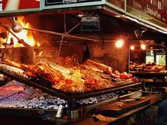 La Parrillada (leightho) Tags: city food uruguay meat mercado montevideo carne parrillada