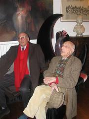 Febbraio 2012 - Incontro con Gillo Dorfles Una chiacchierata (Carla Tolomeo) Tags: arte scultura critico chiars gillodorfles carlatolomeo