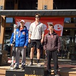 Panorama Miele Cup Spring Series 2012 - Day 2 Men's J1 Slalom Podium 1. Jack Auty; 2. Martin Grasic; 3. Charles Harrison PHOTO CREDIT: Brandon Dyksterhouse