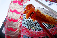 Shot from Below (shaire productions) Tags: sf sanfrancisco chinese festive celebration american parade annual sfchinesenewyearparade sanfranciscochinesenewyearparade street streets tradition city urban metropolis asian heritage chinesenewyearparade lunarnewyear chinesenewyear festivities cny panasian cultural multicultural people candid image portrait photo photograph walking imagery culture color event evening colorful
