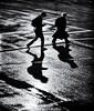 Moonlight Shadow (. Jianwei .) Tags: light shadow two wet water rain station vancouver downtown mood waterfront walk atmosphere moonlight 365 马路 a500 jianwei kemily
