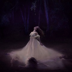 the depths of girls past (brookeshaden) Tags: girls motion water fog forest darkness wind surrealism ghosts ghostly timeless whimsical fineartphotography brookeshaden texturebylesbrumes