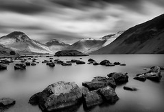 Britain's favourite view (Silver Doctor) Tags: longexposure winter mountain lake rocks lakedistrict wastwater greatgable snaefell snaefellpike