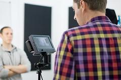 22 February, 11.52 (Ti.mo) Tags: uk england people london berg studio iso200 documentary shoreditch chaco filming behindthescenes oldstreet 75mm 0ev secatf18 berglondon e50mmf18oss