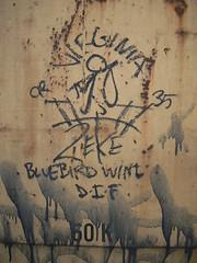 virginia zeke -bluebird (httpill) Tags: railroad streetart art train graffiti virginia streak tag graf railcar boxcar streaks zeke railways freight monikers moniker hobotag hobomoniker hoboart benching paintsticks boxcarart oilbars freighttraingraffiti httpill