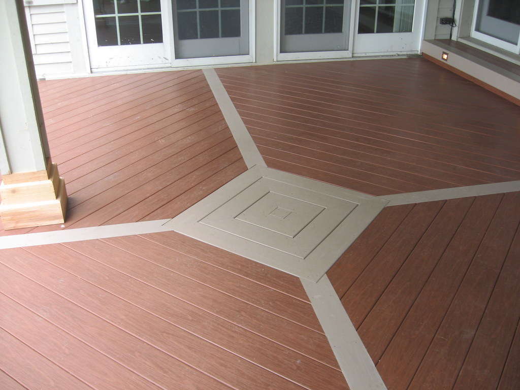 From Creative Wood Products Synthetic Deck Pvc Llc