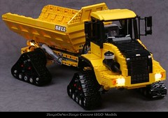 PICTF01 (2LegoOrNot2Lego) Tags: truck track bell tracks dump articulated adt articulate tracked articulation b30 b30d