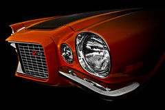"""Z Orange"" (Neil Banich Photography) Tags: orange cars chevrolet camero car automobile artistic details grill chevy headlight custom artcar hotrods ratrod z28 autoart carscool picturescool neilbanichphotograhy imagescool 1970cameroz28"