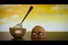 The Torment of a Kiwi (AKfoto.fr) Tags: face fruit kiwi 50mm18 torment supplice 550d strobist t2i