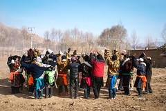 Archers from Duowa Village (tsemdo.thar) Tags: archery archer                             tibet tibetan amdo karmatang karmathang culture tibetanculture khrika guide tsemdo archerycontest tibetantaggingproject