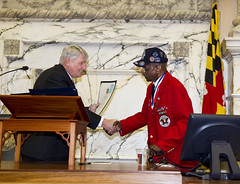 Tuskegee Airmen Honored in House Chambers
