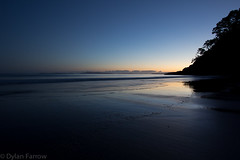 Dawn (Dylan Farrow) Tags: longexposure morning blue newzealand sunrise dark dawn pixelpost flickrpost whangapoua 60d