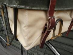 Cover Buckle (guidedbybicycle) Tags: bicycle bag handmade rando front rack custom randonnee randonneuring