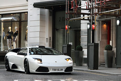 Tuning. (Alex Penfold) Tags: auto street camera uk roof white london cars alex sports car sport mobile canon photography eos photo cool flickr open slow image awesome flash balloon wing picture super spot exotic photograph lp basil modified spotted hyper too lamborghini coupe supercar scoop spotting exotica vents sportscar 2012 sportscars supercars murcielago lambo penfold 640 sloane gulzar spotter t00 luw lp640 hypercar 60d t005 hypercars knightsbrudge lp6404 alexpenfold t005luw 5luw 5l0w