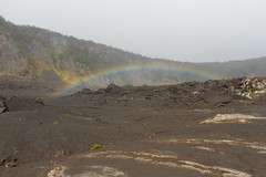 Rainbow on Kilauea Iki Trail Photo