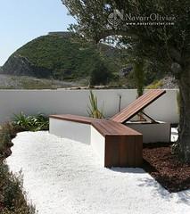 Banco de diseo (NavarrOlivier - Estructuras de madera - Pergolas y) Tags: madera banco terraza ipe asiento muxacra jrdin