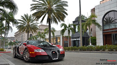 The Bugatti Veyron 16.4 - A Supercar That Gets Less Than 3 MPG At Full Throttle In 7th Gear.! (SupercarFocus.com) Tags: red black dr hills 164 rodeo beverly bugatti veyron