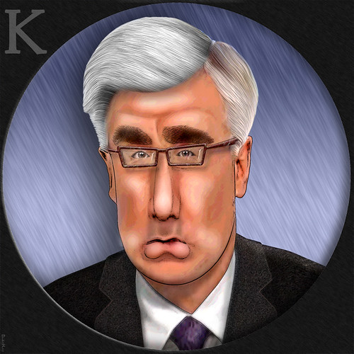 Keith Olbermann - Caricature