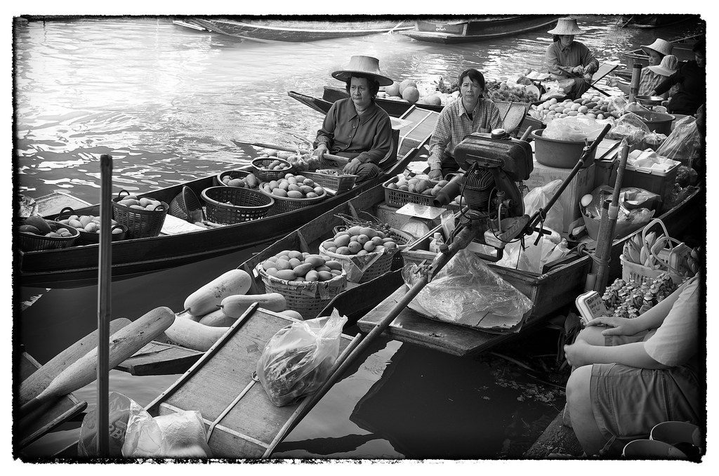 Floating Market - yes, we did the tourist thing