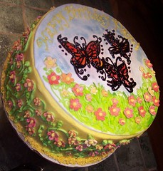 Butterfly cake by Carrie B, Birthday Cakes 4 Free Twin Cities, MN