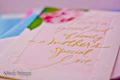 Give back to the woman who gave to you (kmanl3y) Tags: pink blue love writing mom photography gold day bokeh quote mother may katherine appreciation mothers card hallmark manley kmanley