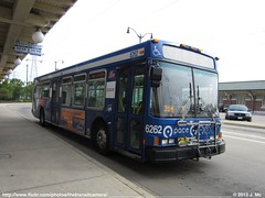 Pace 6262 (TheTransitCamera) Tags: bus public suburban north transport american transportation transit service pace suburb industries chicagoland nabi 40lfw pace6262