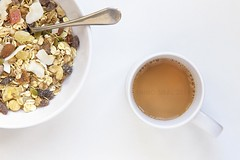 [muesli and tea low res] (RHiNO NEAL) Tags: breakfast tea neil bowl mug muesli rhinoneal