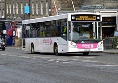 YJ62 JXG (Cammies Transport Photography) Tags: street bus coach edinburgh evolution 13 fredrick mcv blackhall coachlines yj62jxg