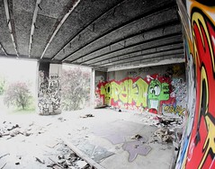 Urbex (Pichot Thomas) Tags: fish paris france canon french photo d tag fisheye 500 exploration 8mm franais fisheyes urbain urbex urbaine abandonn parisienne 500d lieu samyang