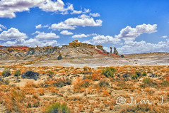 Hiking to VOD South (Jim Johnston (OKC)) Tags: newmexico desert hike 3wisemen ahshislepah