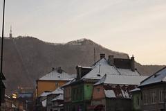 Hollywood-esque sign (taytaytaytaytaytaytaytaytaylor) Tags: winter snow romania transylvania brasov kronstadt colourfulbuildings brass tmpamountain