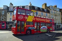 (Zak355) Tags: bus scotland tour scottish doubledecker bute rothesay opentopbus isleofbute p487mby citysightseeingbute