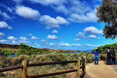 Blue sky, cloud and hiking trail of Lake Skinner (Albert Jafar) Tags: lake nature outdoor ngc bluesky temecula hikingtrail ngs riversidecounty recreationarea lakeskinner photographerswharf skinnerreservoir
