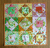 Briar Rose Economy Block Pillow Cover (alidiza) Tags: quilt patchwork briarrose heatherross economyblock