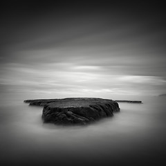 Cut Adrift (C A Soukup) Tags: california longexposure blackandwhite monochrome pointreyes drakesbeach surfacing cutadrift