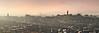 Edinburgh Skyline (ShinyPhotoScotland) Tags: camera city light urban panorama mist colour art nature lines weather fog composite composition manipulated lens landscape photography scotland haze warm edinburgh moody emotion affection unitedkingdom horizon places calm equipment zen dreamy balance colourful moment striking toned contrasts hdr contrejour airy lothian contentment lightanddark salisburycrags shapely radicalroad haar gbr hugin nearfar digikam tonemapped olympuspenf skyearth shapeandform rawconversion vintagefilm enfuse rawtherapee naturehappens filmemulation olympus1260mmf28 mankindnature syntheticfujiprovia100