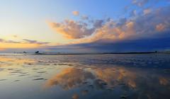 IMG_0018x (gzammarchi) Tags: italia mare nuvola alba natura paesaggio ravenna riflesso lidodidante