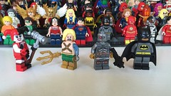 DC Characters: Alternative Universes (-{Peppersalt}-) Tags: comics justice dc lego batman quinn heroes custom league villains aquaman harely deadshot minfigures