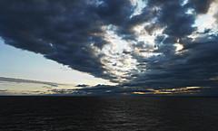 On my way to wonderland (barborasuomi) Tags: sunset sea travelling ferry clouds suomi finland holidays estonia balticsea