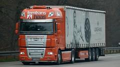 D - Ferntrans Haas >Junghans< DAF XF 105 SSC (BonsaiTruck) Tags: truck lorry camion trucks 105 haas lastwagen daf lorries lkw xf junghans lastzug ferntrans