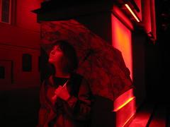 Irina ( ) Tags: red portrait people woman look redlight kyiv